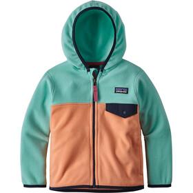 Patagonia Micro D Snap-T - Veste Enfant - vert/orange